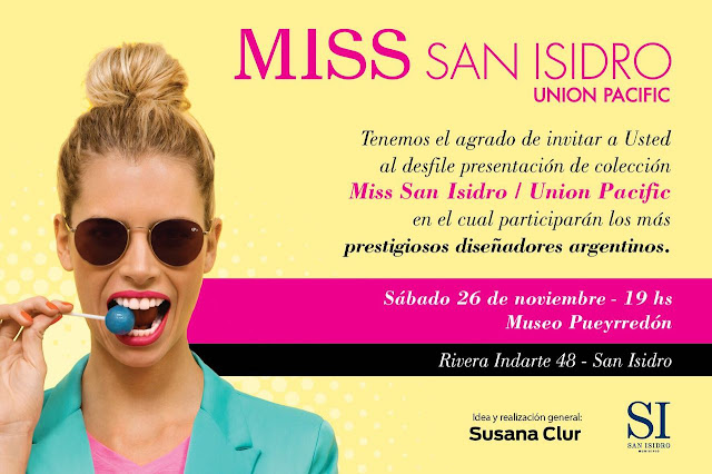 Miss San Isidro/Union Pacific