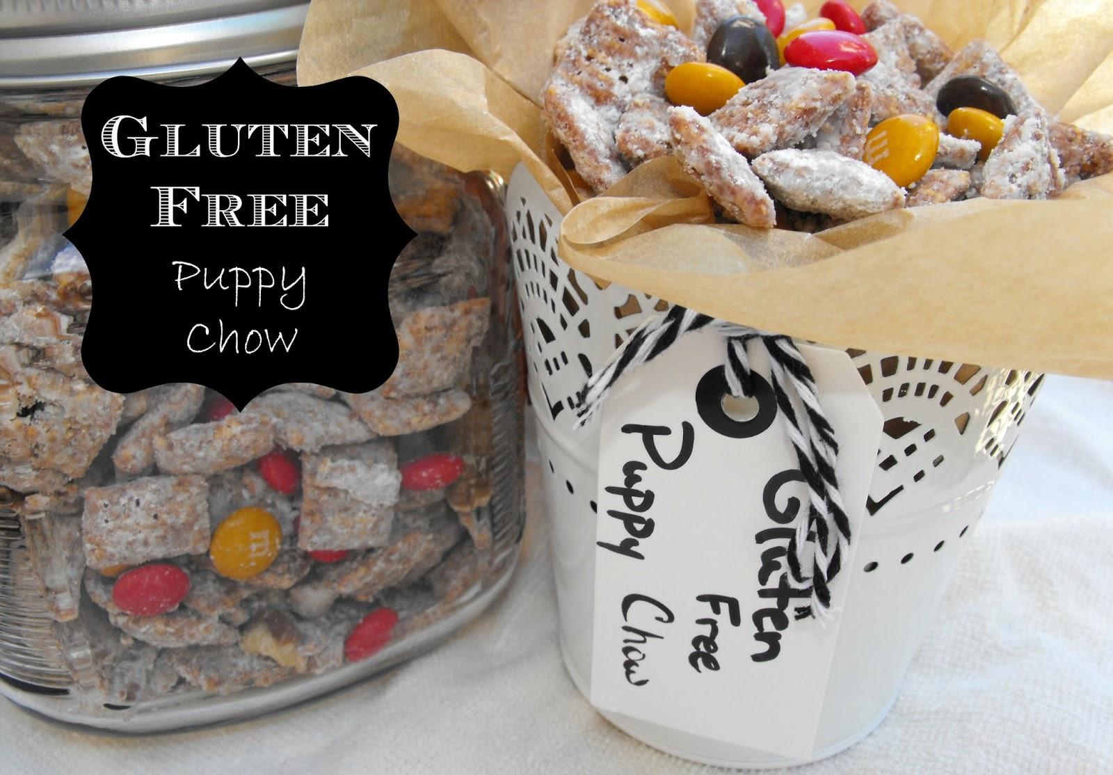 gluten free puppy chow