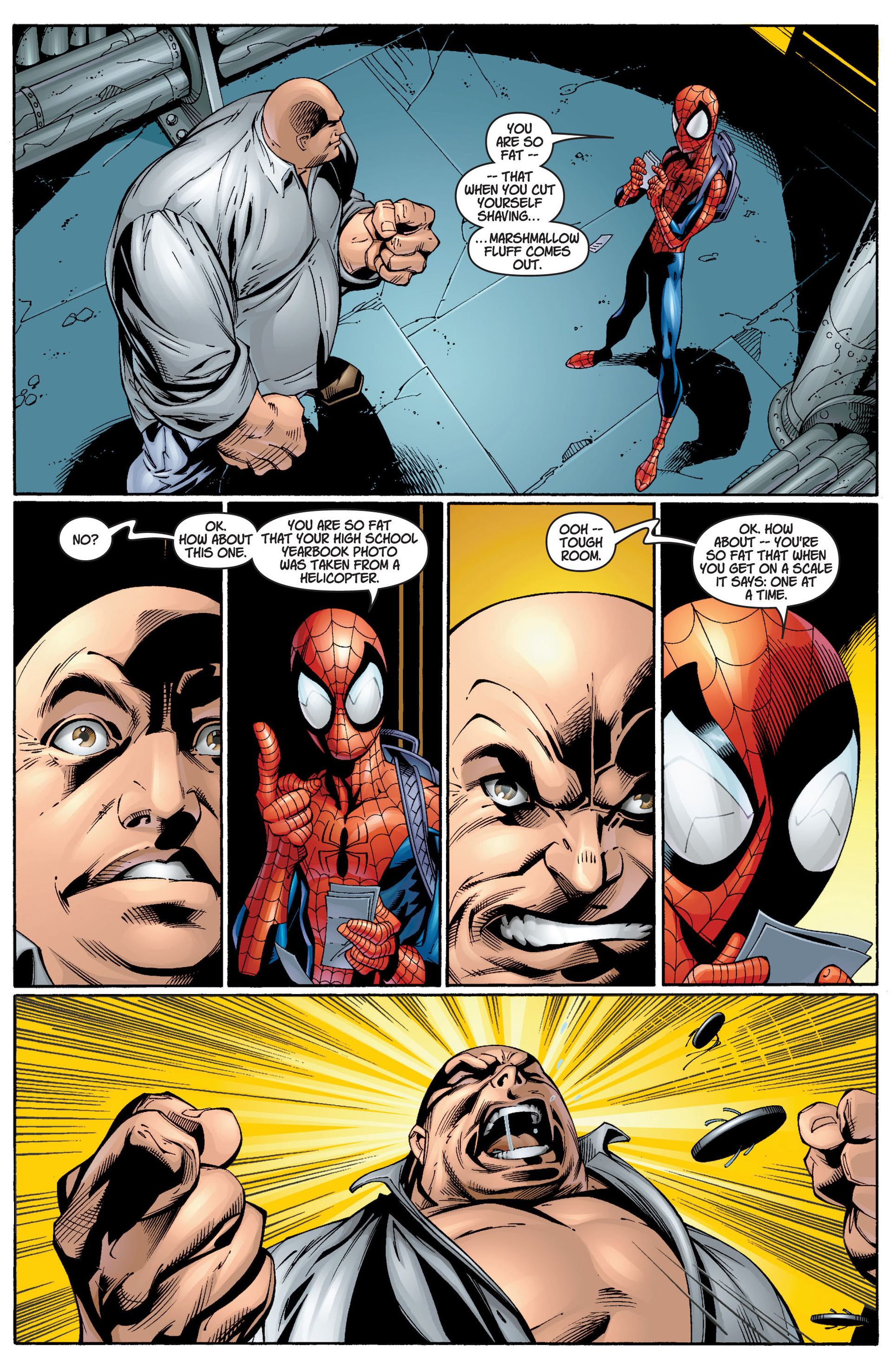Read online Ultimate Spider-Man (2000) comic -  Issue #12 - 13