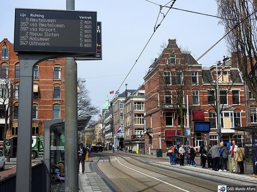 Ônibus de Amsterdam para Keukenhof, Holanda