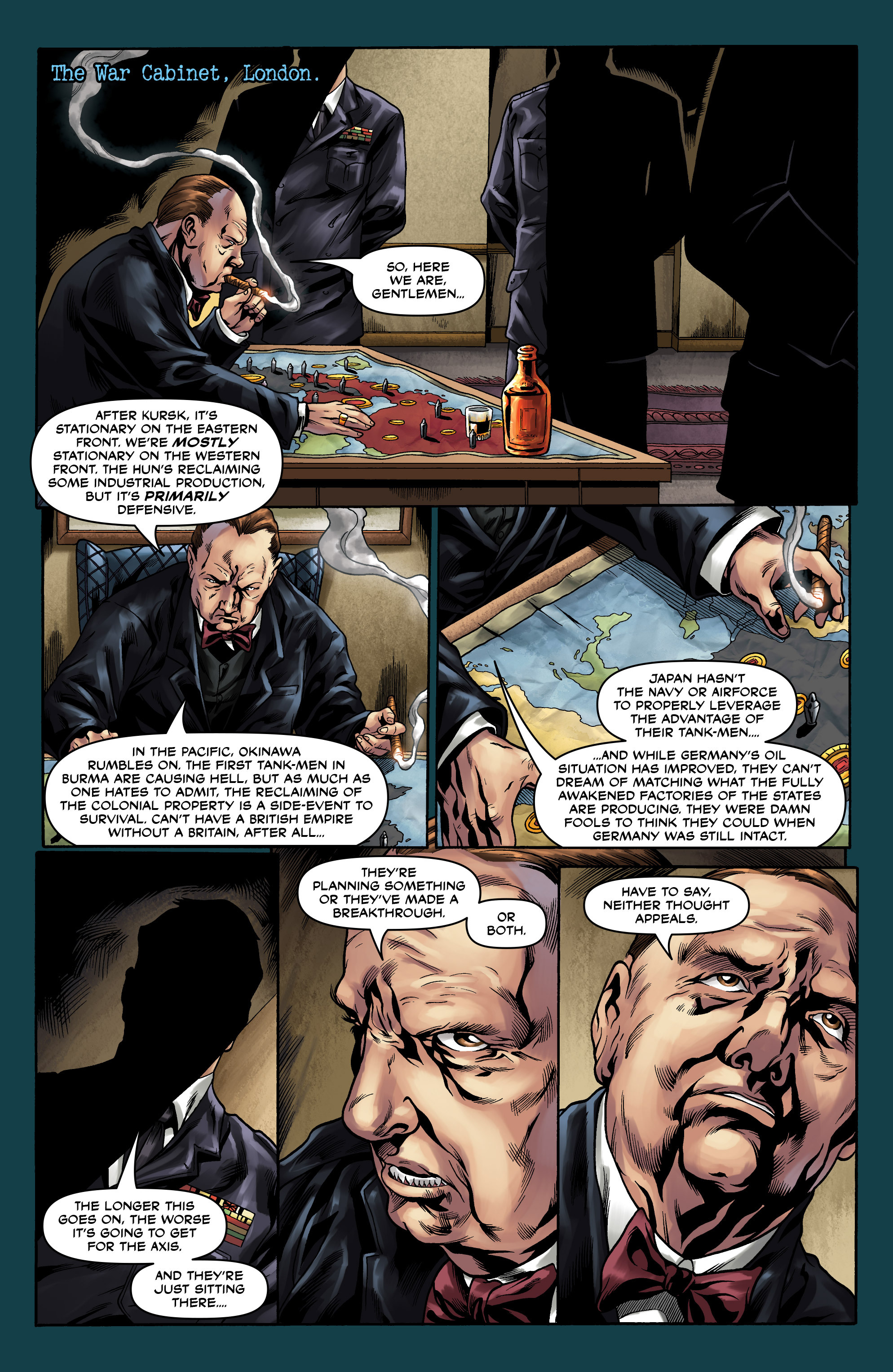 Read online Uber comic -  Issue #10 - 6