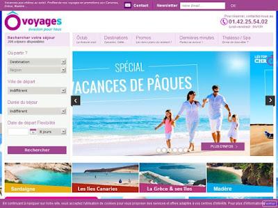 Site web ôvoyages