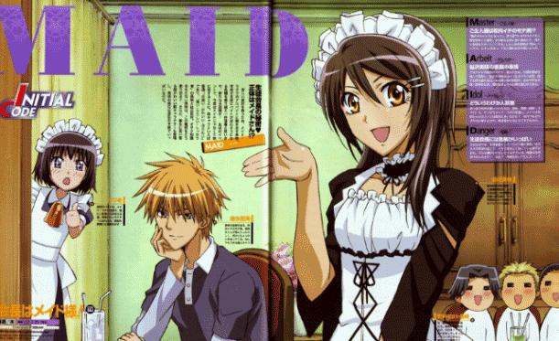 Kaichou Wa Maid Sama - Daftar Anime Romance School Terbaik Sepanjang Masa