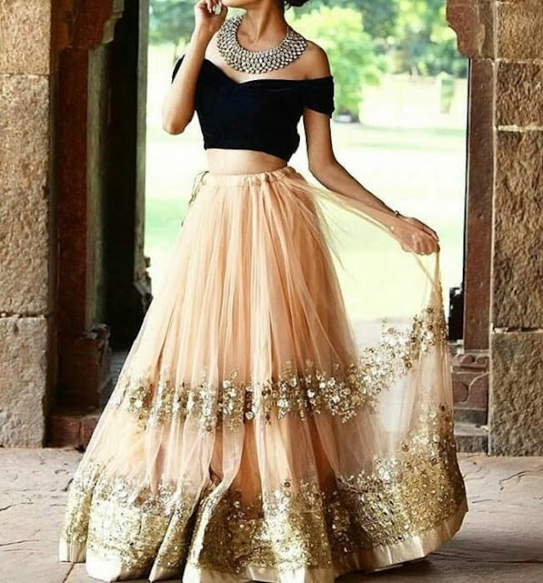 party wear dresses for girls, indian party wear, black and beige, beautiful dresses