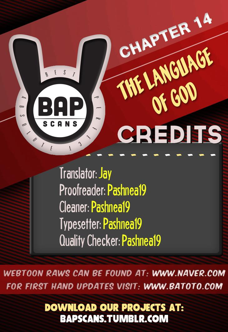 The Language of God - Chapter 14