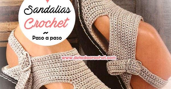 Tejidas Crochet A Crochet Tejidas Sandalias Tejidas A Paso Paso Sandalias Sandalias 34RjLqAc5