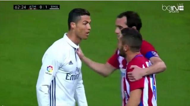 """""""Saya katakan ya, ya, homo. Tetapi sangat kaya raya, bedebah!"""" jawab Ronaldo Saat Koke Memanggilnya Dengan Sebutan Homo."""