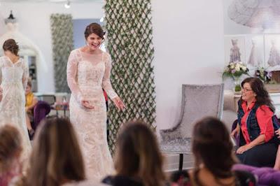 Tori Bates wedding dress