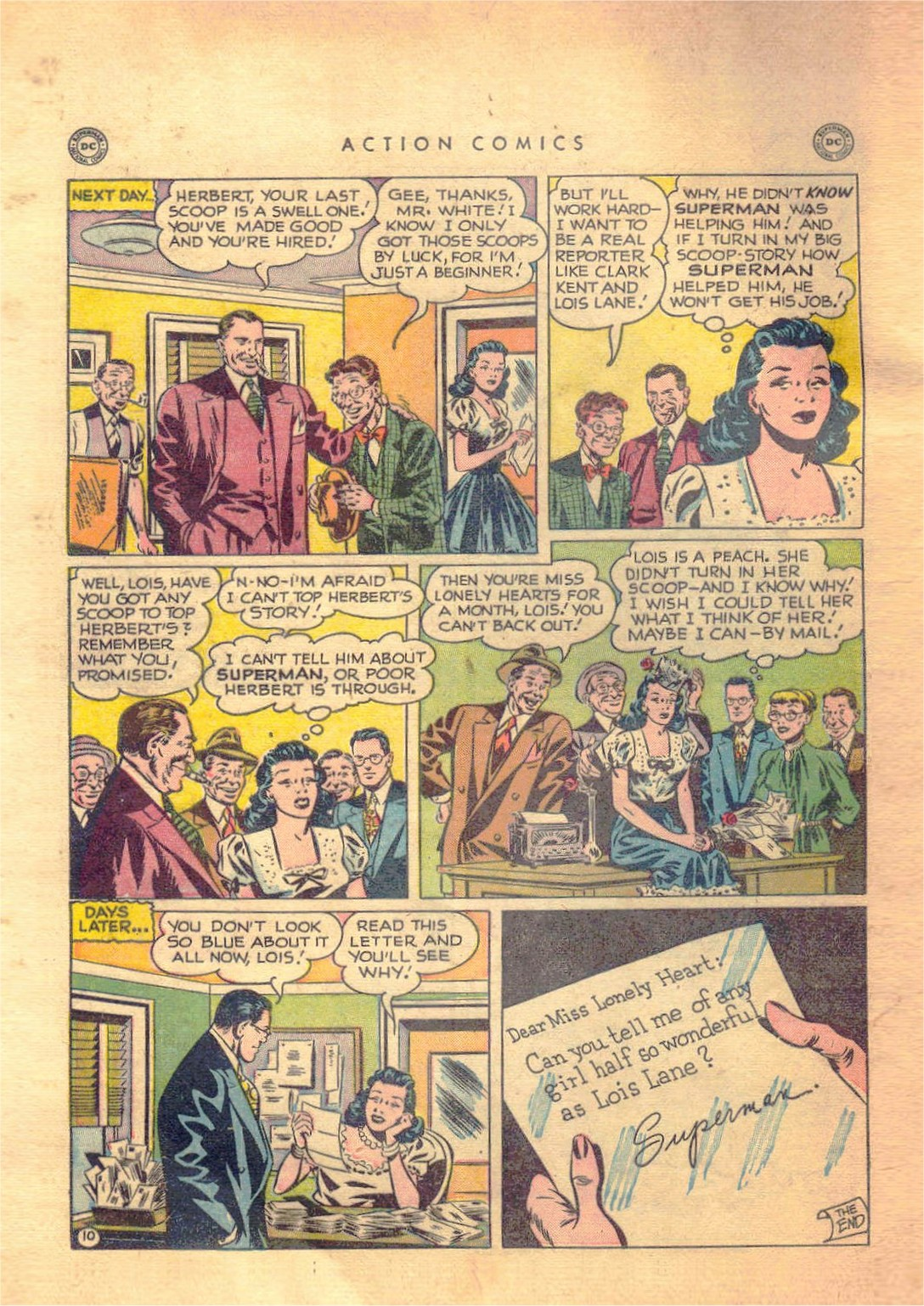 Read online Action Comics (1938) comic -  Issue #138 - 11