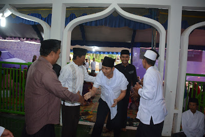 Safari Ramadhan Ajang Wabup Arifin Mendekatkan Diri Dengan Masyarakat Bendungan