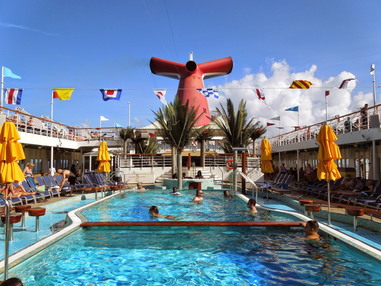 Carnival Sensation main pool