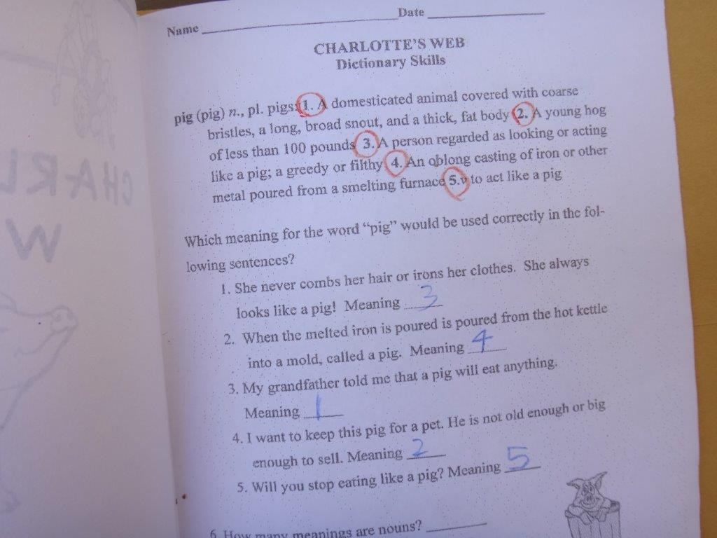 The Unplugged Family Literary Study Charlotte S Web
