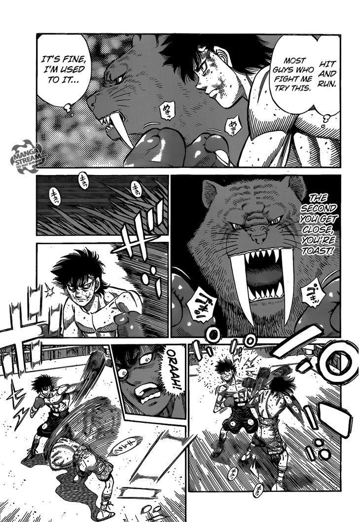 Hajime no Ippo - Chapter 1087