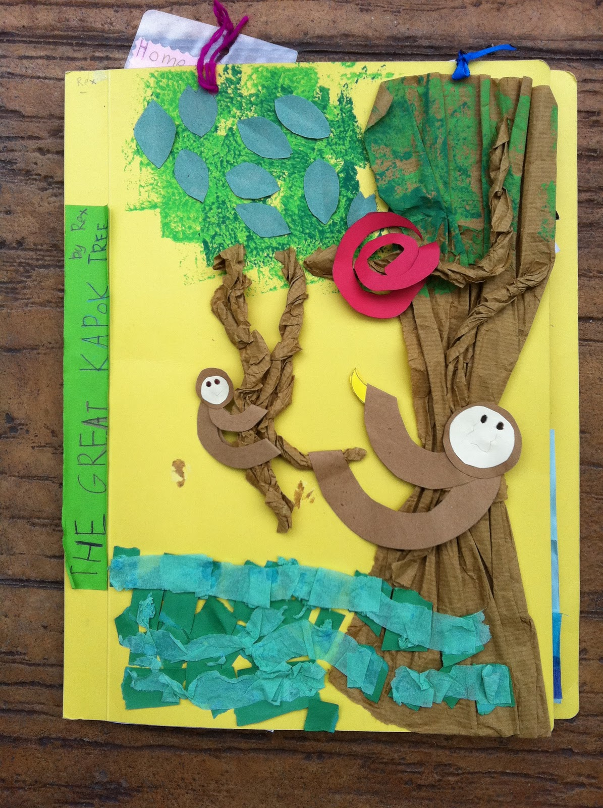 rainforest craft ideas beans the great kapok tree lapbook project 2810