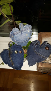Återbruk av jeans, DIY Denim Hearts