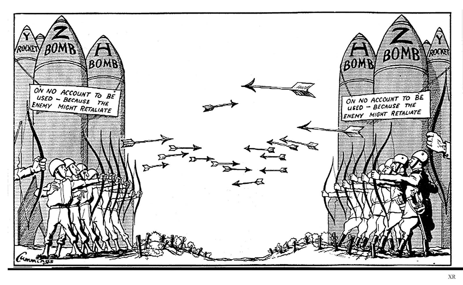 Atomic Annihilation Mutual Assured Deterrence Mad