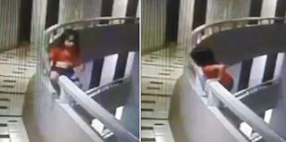 5χρονη υπνοβάτης έπεσε από τον 11 όροφο, αλλά κατάφερε να επιζήσει (vid)