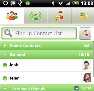 ICQ Interface