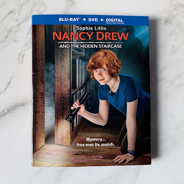 Nancy Drew and the hidden Staircase Blu-ray/DVD/Digital movie giveaway #ad