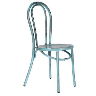 Silla Arco metal Azul Ardid