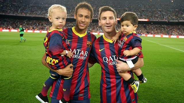 Lionel Messi and Neymar Jr FC Barcelona Wallpapers ~ Fc ...