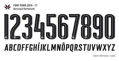 puma 2017 font