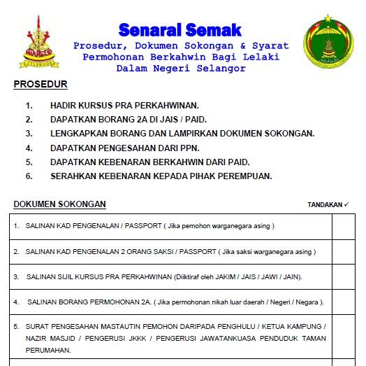Jais Selangor Borang 2a Author On C