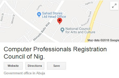 Computer Professionals Registration Council of Nigeria Recruitment Form - (CPN) 2018/2019