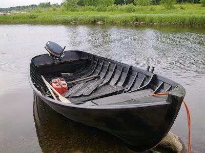 irkun vene, vene vesille