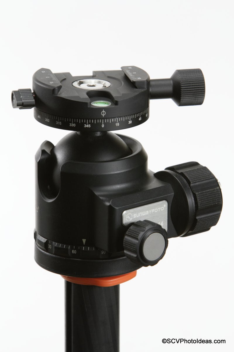Sunwayfoto DDH-03i PC on XB-44 LP ball head