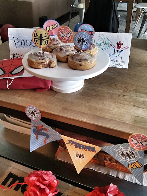 spider-man homecoming party