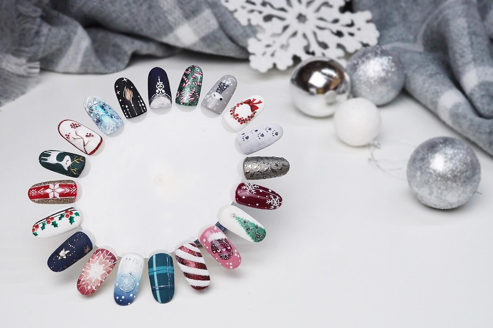 Paznokcie Na Swieta 20 Pomyslow Na Zimowy Manicure Pata Bloguje