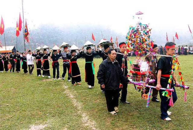 Lễ hội Nhặn Sồng và Nào Sồng