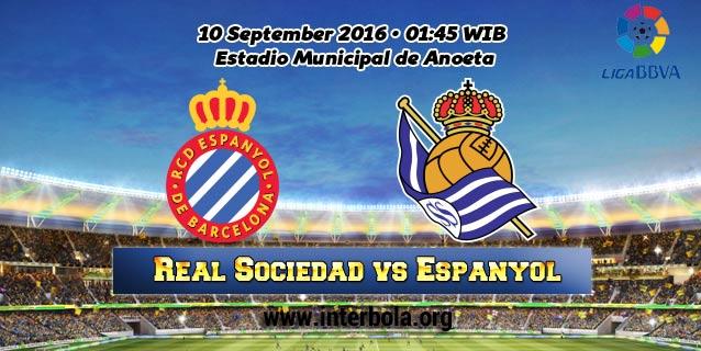 Prediksi Real Sociedad vs Espanyol 10 September 2016