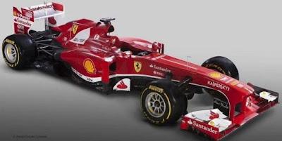presentacion F138 en Maranello, 1 de febrero de 2013