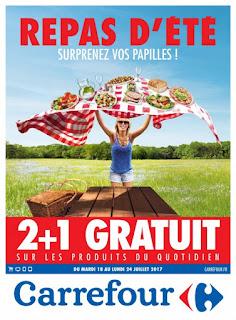 Catalogue Carrefour 18 au 24 Juillet 2017