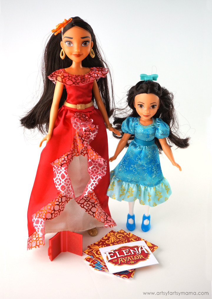 Purchase Elena of Avalor dolls and play the Free Printable Match Game! #PlayLikeHasbro