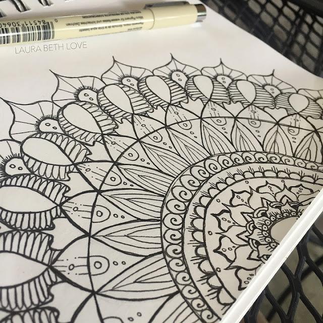 Dishfunctional Designs Magical Mandalas Mandalas In Diy Art Home