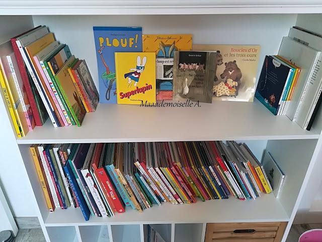 Bibliothèque littérature jeunesse