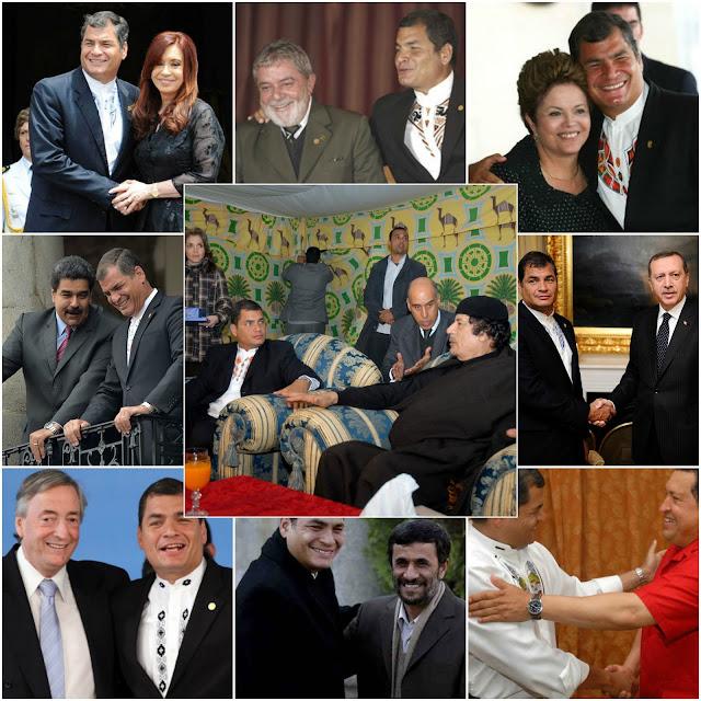 amigos de Rafael Correa