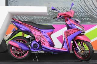 Modifikasi Yamaha Mio M3 Paling Keren Dan Tangguh 2017  Modifikasi