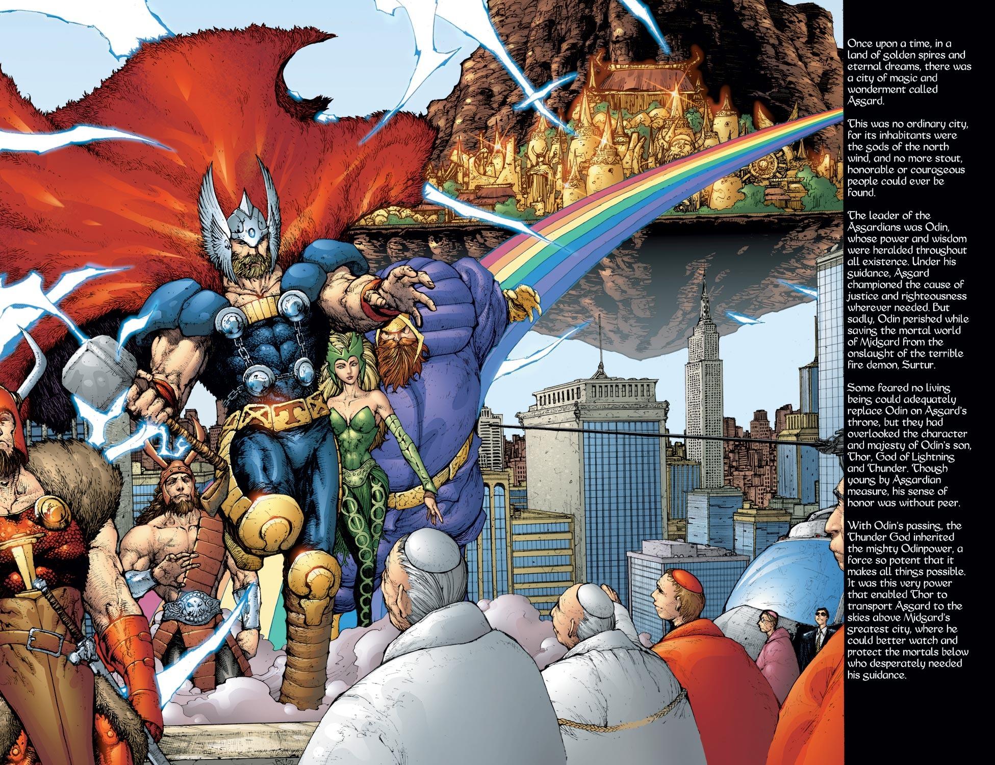 Thor (1998) Issue #57 #58 - English 3