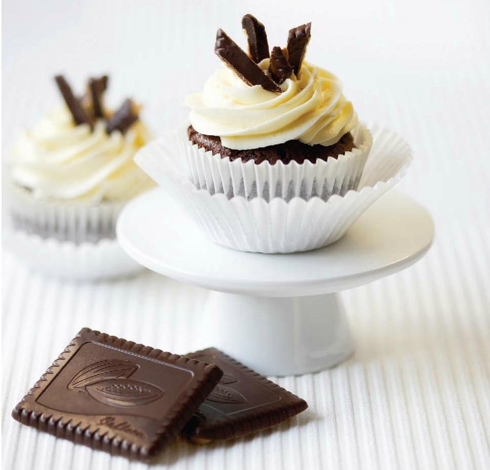Bahlsen Choco Leibniz Cupcakes