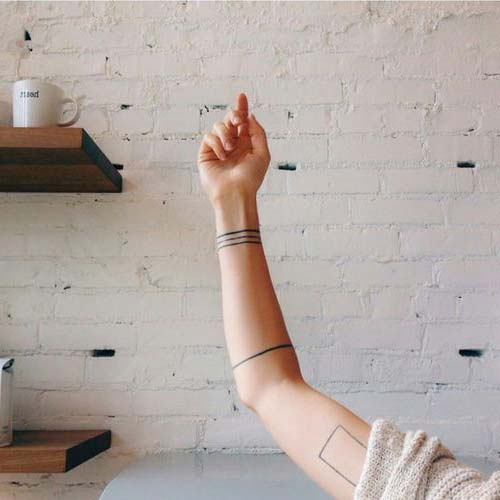 geometrik bilek dövmeleri tumblr geometric wrist tattoos