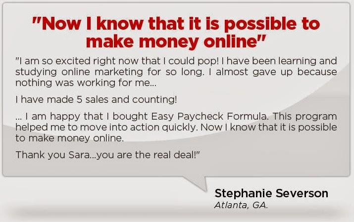Easy Paycheck Formula say 2