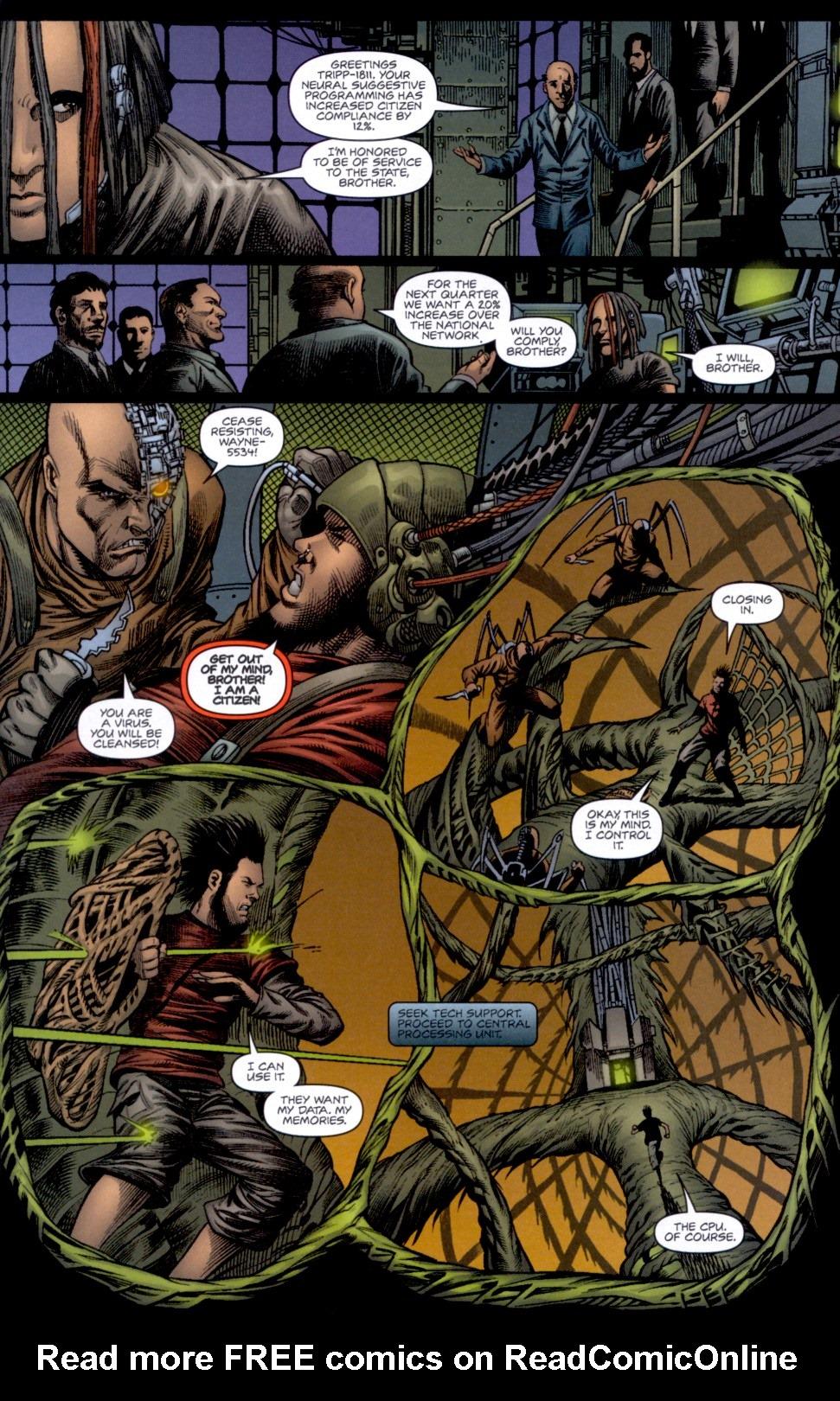Read online Static-X: Machine comic -  Issue # Full - 8