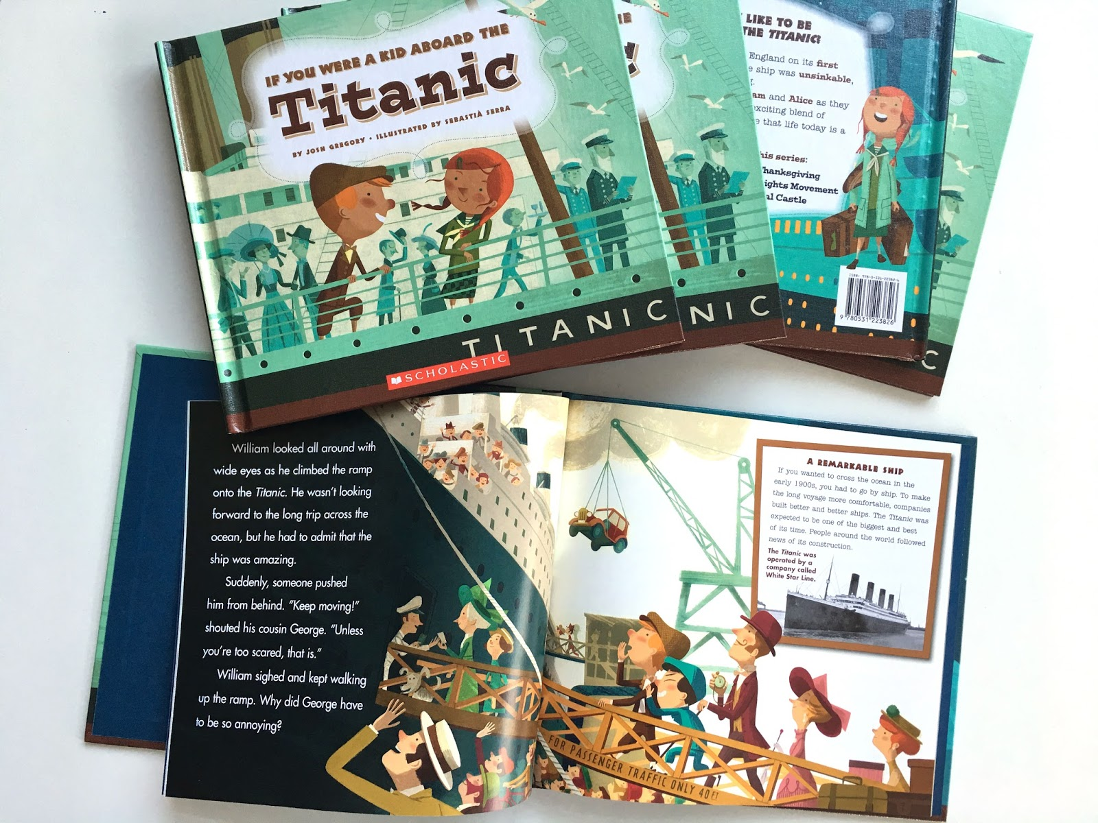 sebasti serra if you were a kid aboard the titanic