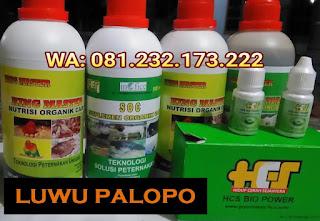 Jual SOC HCS, KINGMASTER, BIOPOWER Siap Kirim Luwu Palopo