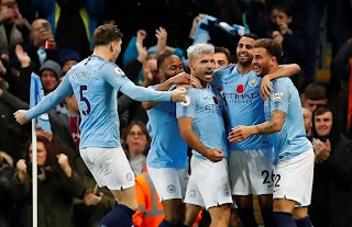 Red hot Manchester City humiliate Manchester United to a 3-1 victory