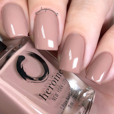 heroine NYC bare minimum swatch the nude romantics collection